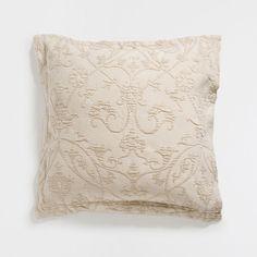 Contrast design cotton cushion cover
