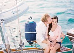 Stunning boat engagement by the beautiful and talent Michelle March.