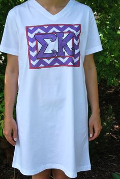 Sigma Kappa Nightshirt from South Bound Sisters