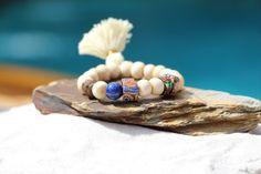 Yoga Buddha Tassel Bracelet Tribal Vintage by HappyGoLuckyJewels