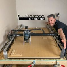 1800 MM X-Carve Upgrade - cnc upgrade - Cnc Router Table, Cnc Router Plans, Cnc Wood Router, Cnc Table, Router Woodworking, Router Sled, Woodworking Workshop, Wood Lathe, Woodworking Projects