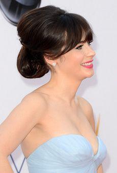 Brides: The Best Celebrity-Inspired Wedding Hairstyles: 2012 Emmys | Wedding Hairstyles | Brides.com