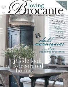 """Loving Brocante"" Magazine 2016/English Edition  (3rd issue)"