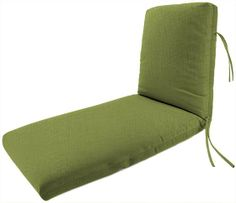 Bullnose Deluxe Chaise Outdoor Cushion