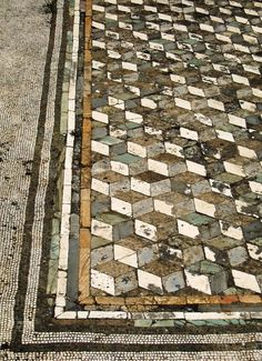 Mosaic floor design ideas for makeover your home 64