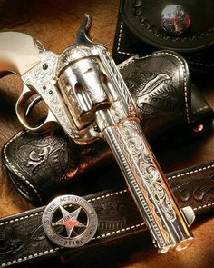 Colt Single Action Army Revolver - PEACEMAKER SPECIALISTS my birthday only they were replicas still a beautiful piece of iron cap guns for life! Weapons Guns, Guns And Ammo, Colt Single Action Army, Single Action Revolvers, Cowboy Action Shooting, The Lone Ranger, Rifles, Cool Guns, Le Far West
