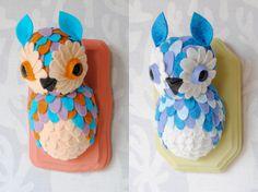 My Owl Barn: Jordan Elise - Horrible Adorables - a unique take on felting!
