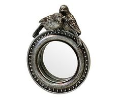 Espelho Angers Prateado - 10X14cm