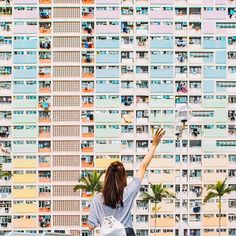 The Insta-famous Choi Hung Estates⠀ ✧✧✧✧✧⠀ Photo of Samantha @samishome by @veeceecheng⠀ ✧✧✧✧✧⠀ Traveller Tip From Samantha ↠ As iconic as the city skyline, Choi Hung Estates is a public housing estate. 'Choi Hung' literally translates to 'rainbow'⠀ ✧✧✧✧✧⠀ Submit your photos and travel tips for a feature on our Instagram on WeAreTravelGirls.com/Photo-Submission/ ⠀ ✧✧✧✧✧⠀ #wearetravelgirls #choihung #Regram via @wearetravelgirls