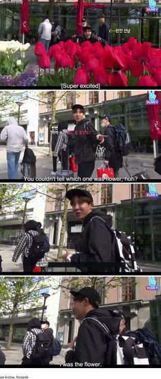 J-Hope, the one and only flower.