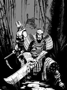 Hellboy Samurai Ninja Abe by petevaldez on deviantART