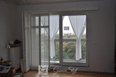 Shutters, shuttersy, okiennice wewnętrzne, realizacja GAMA STYL