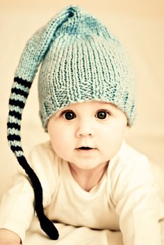 Cute hat on cute baby