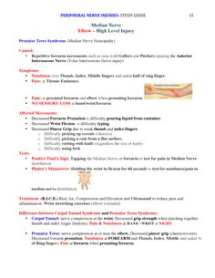 Peripheral Nerve Injuries Study Guide page 15 Ot Therapy, Hand Therapy, Therapy Tools, Physical Therapy, Study Board, Board Exam, Nbcot Exam Prep, Peripheral Nerve Injury, Occupational Therapy Schools