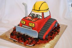 chuck and friends cake