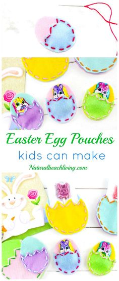 Diy easter treat bags craft for kids easter pouches and ads diy easter treat bags kids love creative easter crafts for kids perfect little easter negle Image collections