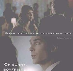 Damon! :) turn your humanity back on, Elena, and love him!