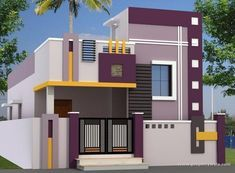 House for sale in Tuticorin House Ceiling Design, House Gate Design, Duplex House Design, Unique House Design, Single Floor House Design, 2bhk House Plan, House Elevation, Front Elevation, House Design Pictures