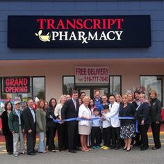 #GrandOpening and #RibbonCutting Ceremony at Transcript Pharmacy, May 21, 2015. Welcome to #Farmingdale! 87 Hempstead Turnpike, 11735