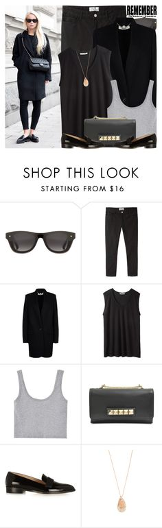 """""""1664. Blogger Style: Victoria Tornegren"""" by amber-nicki-rose ❤ liked on Polyvore featuring 3.1 Phillip Lim, Acne Studios, STELLA McCARTNEY, T By Alexander Wang, J.Crew and Thomas Sabo"""