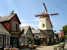 """Solvang-101 North to 154 West from Santa Barbara to Solvang (Approx. 35 miles 