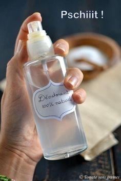 Déodorant naturel au bicarbonate de soude