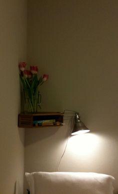 I've been in the market for a bedside shelf; something inexpensive, basic, 'does-the-job' style. so I went to the world's largest retaile. Room Magazine, Magazine Files, Magazine Storage, Recycled Furniture, Diy Furniture, Bedside Shelf, Magazine Holders, Magazine Rack, Corner Shelves