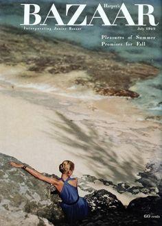 Alexey Brodovitch - Harper's Bazaar, July 1949