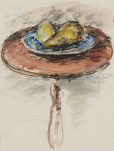 TAPANI RAITTILA, pastel and watercolour, signed and dated 1994. - Bukowskis Modern Art, Contemporary Art, All Themes, Bukowski, Spring Sale, Wine And Spirits, Still Life, Watercolour, Auction