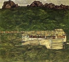 Image result for egon schiele landscapes