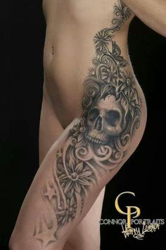e1d0ceeaf98e 43 Most inspiring Grey Wash Skull Tattoo Flash images