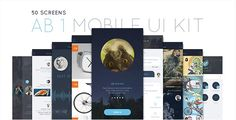 AB Part 1 - Mobile UI Kit Free Nulled Download