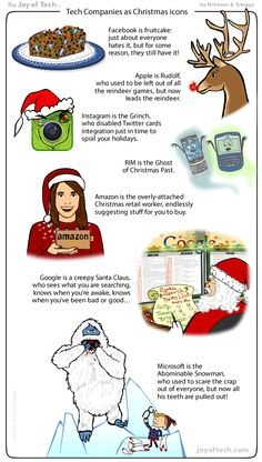 tech companies as christmas icons hbo ilicon valley39 tech