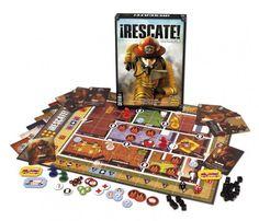 Rescate, un juego de tablero que está que arde
