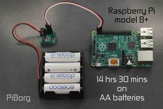BattBorg - Power your Raspberry Pi from AA batteries | PiBorg
