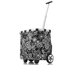 A shopping trolley for the Farmer's Market! From the brand #Reisenthel