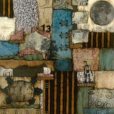 Laura Lein-Svencner..Love her collages