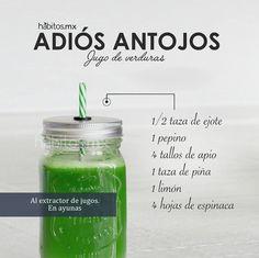 Hábitos Health Coaching | JUGO DE VERDURAS ADIÓS ANTOJOS