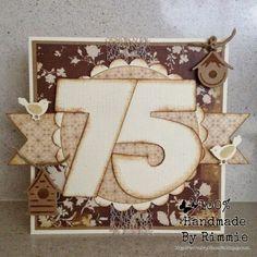 100% Handmade By Rimmie: 75 jaar!