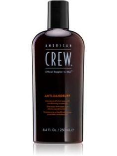 American Crew Hair & Body Anti-Dandruff sampon anti-matreata pentru reglarea cantitatii de sebum. 250 ml Crew Hair, American Crew, Dandruff, Revlon, Vodka Bottle, Shampoo, Aqua, Personal Care, Beauty