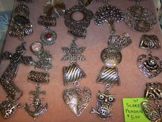 Scarf Pendants - bling up your scarves this fall! $5