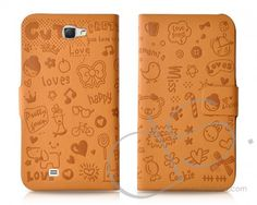 Calore Series Samsung Galaxy Note 2 Flip Leather Cases N7100 - Brown  http://www.dsstyles.com/samsung-galaxy-note-2-cases/calore-series-samsung-galaxy-note-2-flip-leather-cases-n7100-brown.html