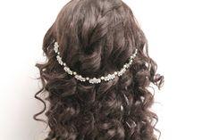 ... band wedding hair vine wedding headband Wedding hair accessories bridal  hair chain bridal headband wedding en Etsy. CadenasPeloCabelloBandasDiadema  De ... f06ed2e1015e