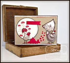 HEY, CHIC!    WELCOME :)    Today I am sharing another little sneak peek with you!   A cute project created using a Sale-A-Bration item ...