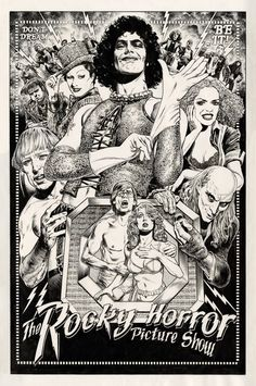 """Chris Weston on Twitter: """"Occasionally I draw pictures. Sometimes just for the fun of it. Here's my Rocky Horror tribute. https://t.co/KMc98fK4wr"""""""