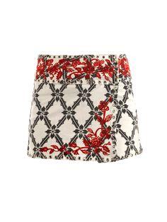 Isabel Marant Denim Wrap Skirt