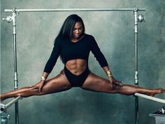 Serena Williams oh my god look at those abs!! #IsThereATruthAboutAbs?