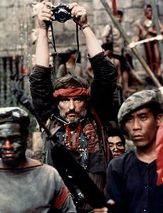 Dennis Hopper as the Photojournalist in Francis Ford Coppola's Apocalypse Now 1979 Apocalypse Now, Dennis Hopper, Films Cinema, Francis Ford Coppola, Chef D Oeuvre, Foto Art, We Are The World, Scene Photo, Film Stills