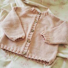 Hand Knit Baby Raglan Cardigan - Round Neck  - choose size/colour - luxury Merino/Cashmere blend yarn, handmade baby clothes