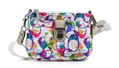 Price: $136.99 |  Coach Multicolor Poppy Stamped C Swing pack #Crossbody #Shoulder #Bag